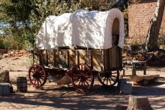 Covered Wagon at the fort